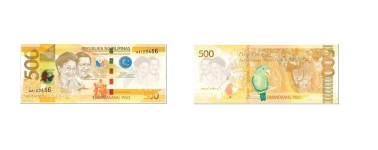 mata uang filipina 500 peso filipina