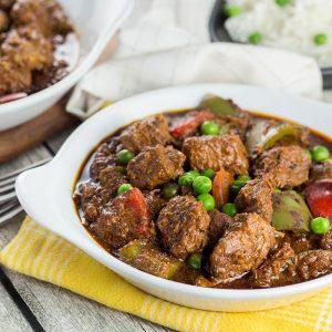 makanan khas filipina beef kaldereta