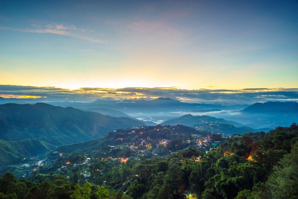 mines view park tempat wisata di Filipina