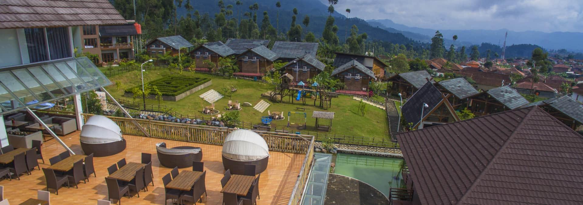 tempat wisata di bandung ciwidey valley resort