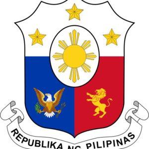 the coat of arms lambang negara filipina